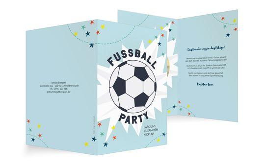 Fussball-Party