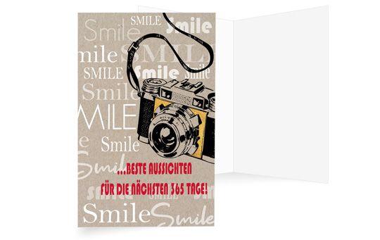Mit einem Lächeln