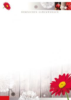 Blütengruß
