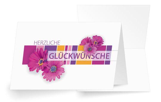 Violetter Blumenzauber