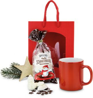 Weihnachtszeit-Schneemann-Schokolade-P0022