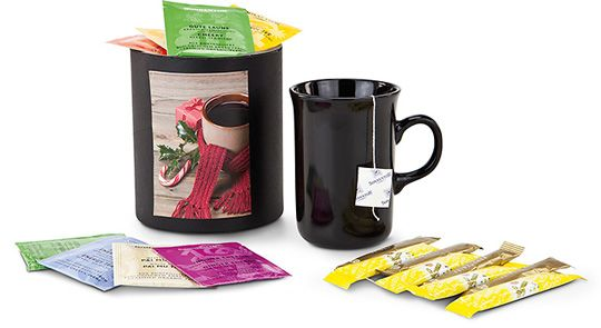 Winterliche Teepause
