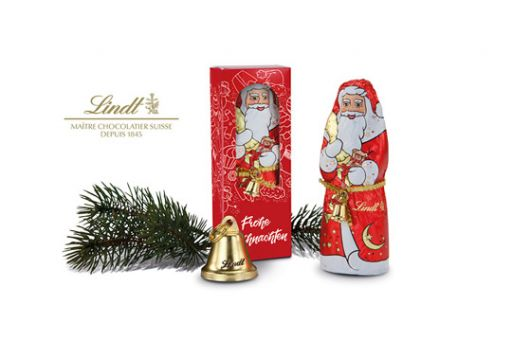 Lindt Santa Claus