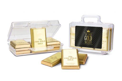 Süßer Koffer - Sie sind Gold wert!