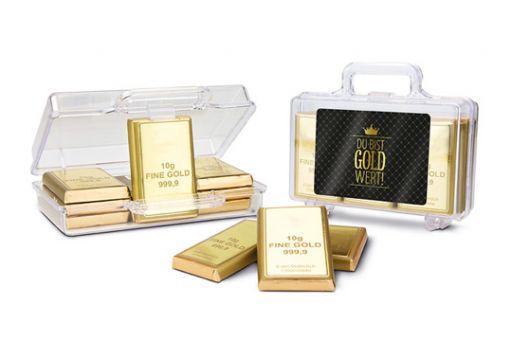 Süßer Koffer - Du bist Gold wert!