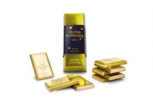 Goldbarren - Du bist hochkarätig
