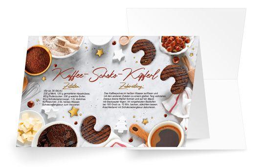 Kaffee-Schoko-Kipferl
