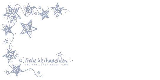 Sternenzauber, DIN-lang-Kuvert ohne Fenster